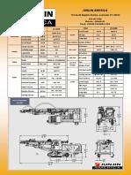 JD 1400E Spec Sheet