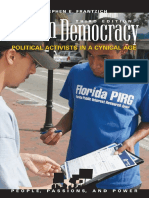 (People, Passions, And Power_ Social Movements, Interest Organizations, And the Political Process () Stephen E. Frantzich - Citizen Democracy_ Political Activists in a Cynical Age (People, Passions, A