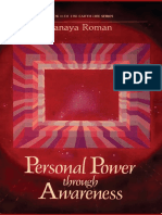 Personal Power Through Awareness a Guidebook for Sensitive People