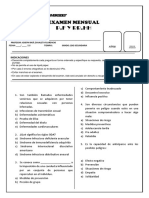 Examen de Pfrh 2do de Secundaria (1)