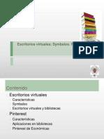Escritorios Virtuales, Symbaloo, Pinterest