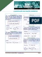 Mecanismo e Classificação Das Reações Orgânicas