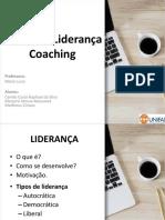 Teoria Da Liderança Coaching_ppt