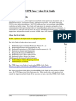 The CFPB Supervision Style Guide (May 2014)(Highlighted Updates)