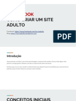 eBook Como Criar Um Site Adulto