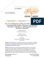 Education Policy Discourse
