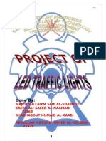 Diploma Project Report - LED Traffic Light