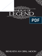 Legend - Samurai of Legend - Beneath an Opal Moon