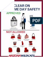 Clear Bagg Policy