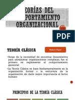 Teorías Del Comportamiento Organizacional
