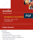 Migration Plan Template | Business Process | Project Management