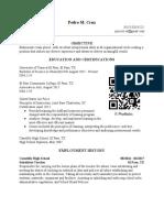resume  updated dec 2018