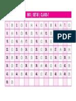 Imo Set-b Answer Keys Class-7