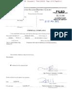 Karat Criminal Complaint