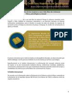 El derecho de las mujeres a una vida libre de violencia física, psicológica y sexual.pdf