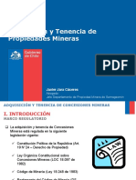 2 - Adquisicion y Tenencia de Propiedad Minera - J Jara - Sernageomin.pdf