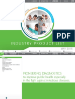 Biomerieux Industry Product List 2016