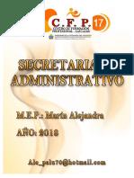 Cuadernillo de Secretariado Adm 2018 (Las Lajas)