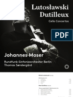 Cello concerti by Lutosławski and Dutilleux