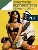 Sangre en El Desierto y Otras a - Robert E. Howard