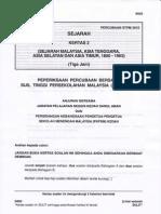 STPM Trial 2010 Sejarah 2 (Kedah)