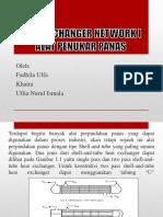 Heat Exchanger Networks i