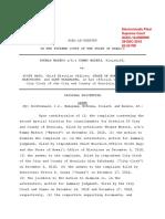 Supreme Court order Waters vs. Nago