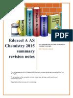 Sample Edexcel as Chemistry