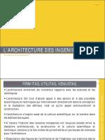 s1 Cours7 Larchitecture Des Ingenieurs