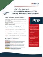 IACCM+CCM+Certification+Programme