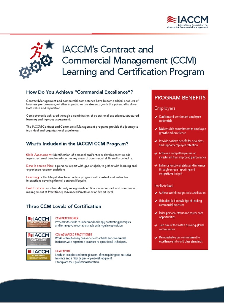 ccm certification