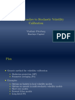 Modern Approaches to Stochastic Volatility Calibration