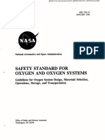 NASA_Safety for Oxygen Systems Guidelines