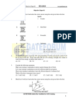 CE Objective Paper II 2010