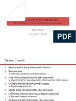 Levy processes in finance and insurance-chapter 1 - introduction