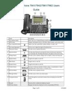 Cisco 7961 User Guide