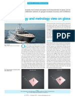 A Terminology and Metrology View on Gloss Ppcj 10 2015