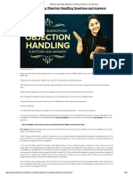 Network Marketing Objection Handling Questions and Answers-75