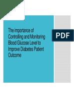 Glucose Monitoring SMBG
