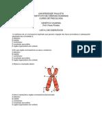 Lista-2 Exerciěcios Geneětica