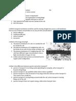 Biol 101 Exam 2 Practice Questions f18