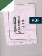 UC Colorimeter-115