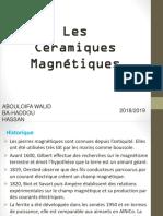 ceramique magnetique