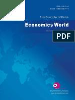 Economics World, Vol.6, No.6, 2018
