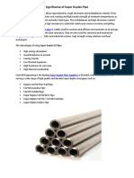 Significance of Super Duplex Pipe