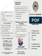 Brochure for the Admission Exam Ingles 2018(1)