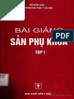 BÀI GIẢNG SẢN PHỤ KHOA TẬP 1 (2006)