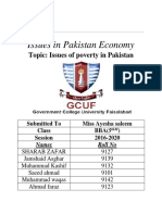 Issue of poverty in Pakistan.docx
