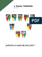 Revista Sarau Subúrbio ed #03 - junho 2018