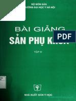 BÀI GIẢNG SẢN PHỤ KHOA TẬP 2 (2006)